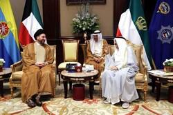 رایزنی عمار حکیم با امیر کویت
