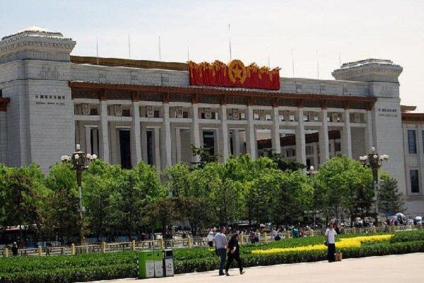 عرض  آثار المتحف الوطني الايراني في الصين