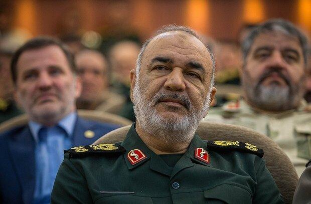 قائد الحرس الثوري يعزّي نصر الله بوفاة شقيقته