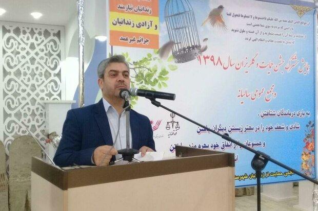 کمک ۷۰میلیون تومانی خیران دامغانی به آزادی زندانیان جرائم غیر عمد