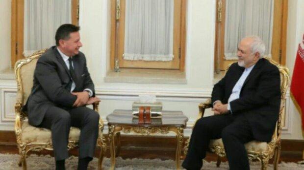 FM Zarif meets with departing Bulgarian envoy