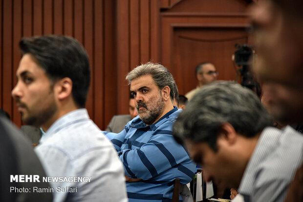 برگزاری نهمین جلسه رسیدگی به اتهامات متهمان شرکت پدیده