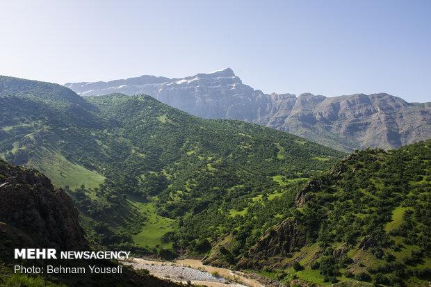 """بركة """"قارون"""" في محافظة لرستان"""