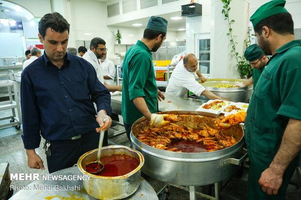 Iftar banquet at Hazrat Masoumeh (SA) Mausoleum