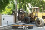 لحظه تخریب ساختوسازهای غیرمجاز در لواسانات