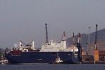 کشتی سعودی حامل سلاح در ایتالیا متوقف شد