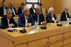 عقد اجتماع مشترك بين الوفدين الرسميين لإيران وتركمانستان