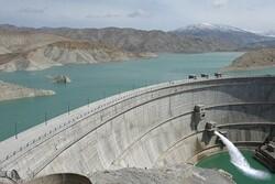 ذخیرهسازی ۴۰.۹ میلیارد مترمکعب آب در مخزن سدهای کشور