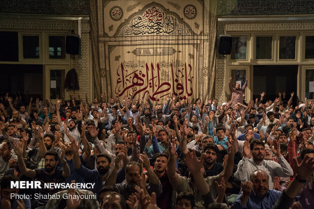 مناجاة ليالي رمضان في مسجد ارك