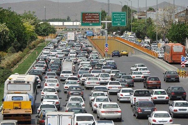 ترافیک نیمه سنگین در برخی از جادههای زنجان حاکم است