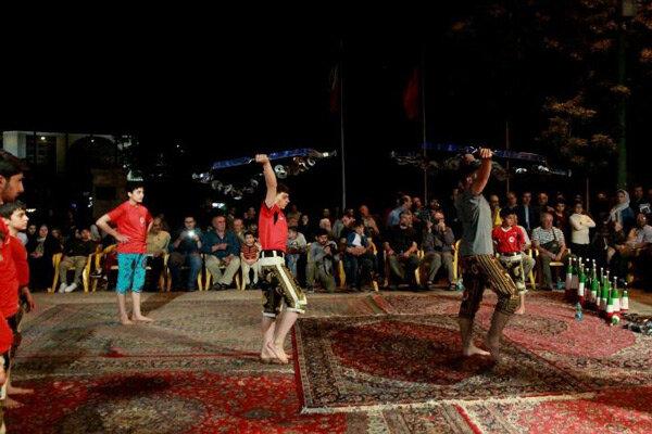 ورزش پهلوانی و زورخانه ای در قزوین برگزار شد