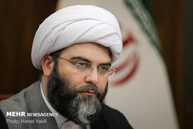 حجت الاسلام محمد قمي رئيس سازمان تبليغات اسلامي