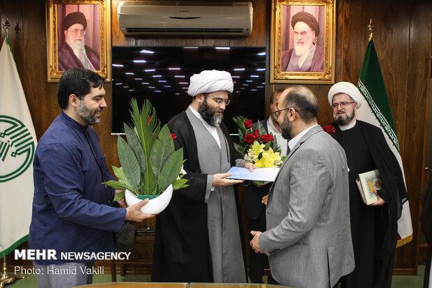 مراسم تکريم و معارفه مديران ارشد سازمان تبليغات اسلامي