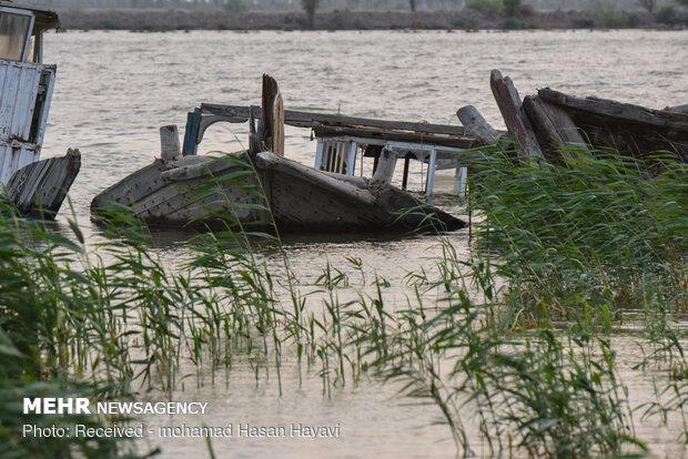"""السفن الجانحة على ضفاف نهر """"اروند"""""""