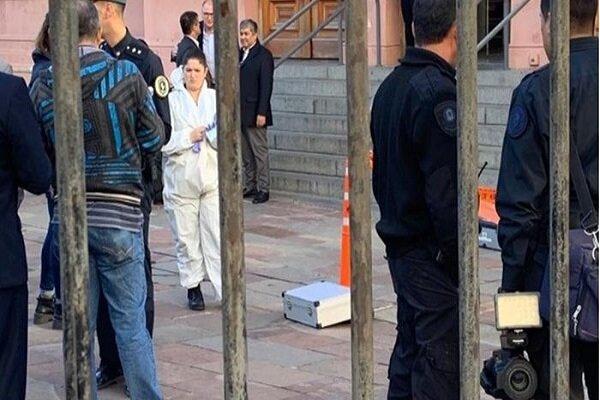 تخلیه دفتر ریاست جمهوری آرژانتین به دلیل تهدید به بمبگذاری