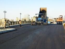 آغاز عملیات اجرایی روکش آسفالت محور مواصلاتی مهرستان به ایرانشهر
