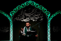 Religious hymns on nights of Ramadan in Tehran's Imam Sadiq (AS) Mosque