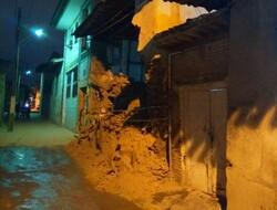دیوار خانه تاریخی چراغعلی فرو ریخت/رفع خطر ۱۸ بنا در بافت تاریخی