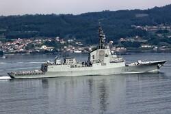 اسپانیا ناوخود را از گروه ضربت دریایی امریکا در خلیج فارس خارج کرد