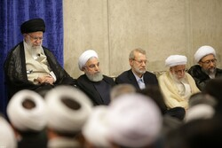 رہبر معظم انقلاب اسلامی سے ایران کے اعلی حکام کی ملاقات
