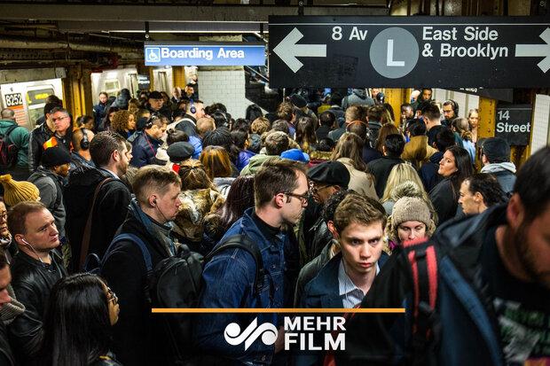 Meksiko metrosunda panik!