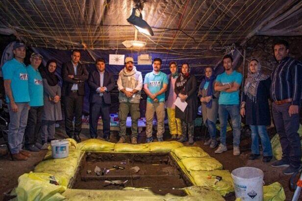 کشف بخشی از جمجمه انسان هوشمند در غار «کلدر» خرمآباد