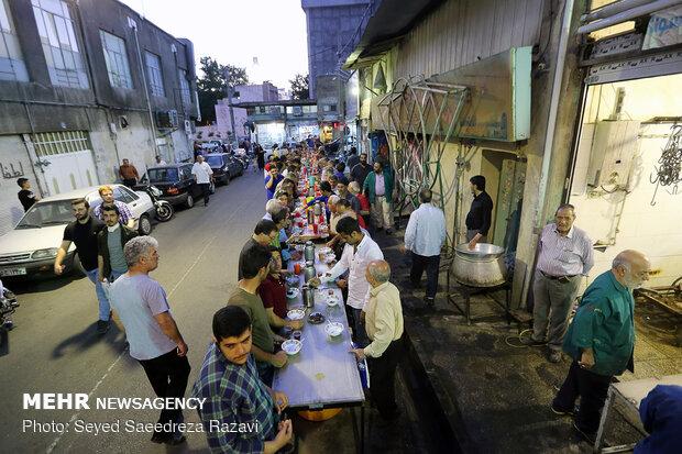 افطاري ساده در محله امامزاده عبدالله