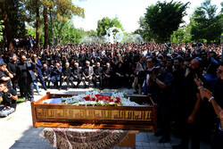 Funeral ceremony of Behnam Safavi