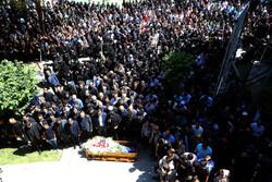اصفہان میں مرحوم بہنام صفوی کی تشییع جنازہ
