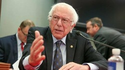 Senator Sanders slams John Bolton for trying to drag U.S. into war with Iran