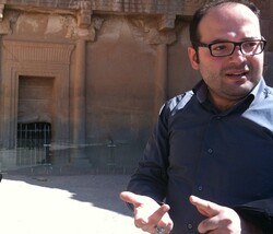 Italo-Iranian journalist Davood Abbasi in an undated photo.
