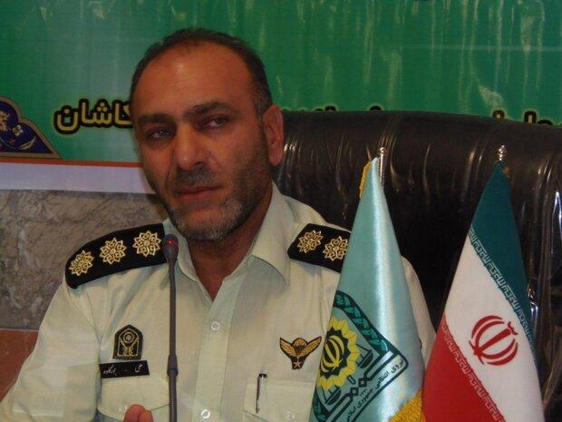 انهدام باند سارقان حرفه ای سیم برق در کاشان/۳ نفر دستگیر شدند