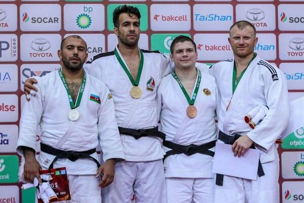 Iran wins 1 gold, 1 silver at IBSA Judo Grand Prix