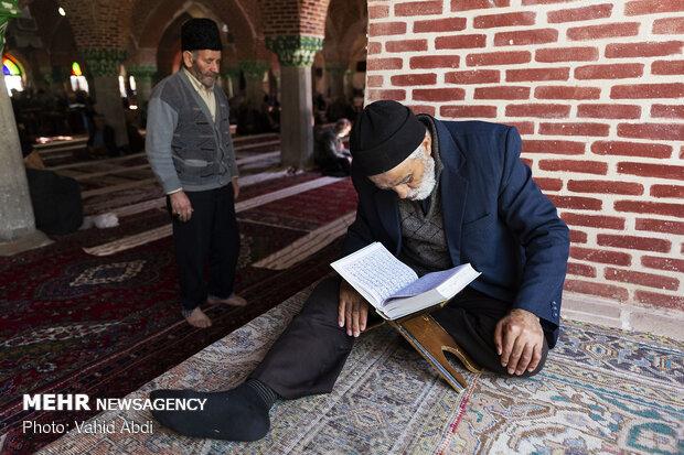 حال و هوای ماه رمضان در مساجد بازار تاریخی تبریز