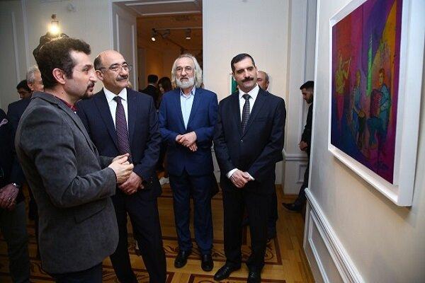 """Bakü'de """"Türkiye'den esen meltem"""" sergisi"""