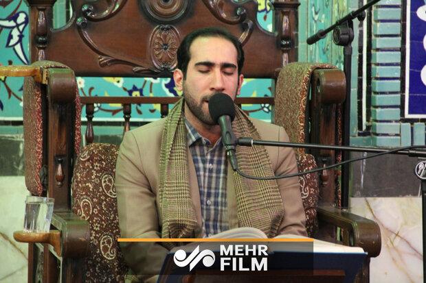 عالمی مقابلوں میں قاری مجتبی محمد بیگی نے سورہ بقرہ کے ایک حصہ کی تلاوت کا شرف حاصل کیا