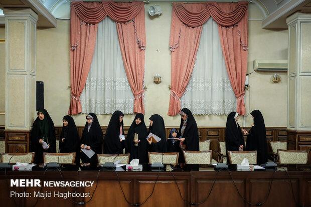 دیدار نمایندگان تشکلهای دانشجویی با رییس قوه قضاییه