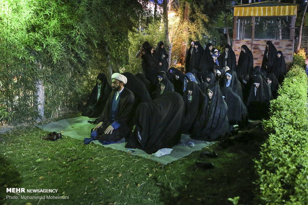 مراسم افطار رزمندگان گردان تخریب لشگر ۴۳
