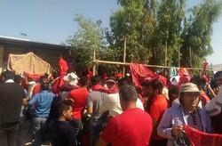 پرسپولیسیها جشن قهرمانی را آغاز کردند/ ترافیک شدید اطراف ورزشگاه