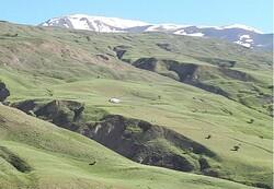 سقوط پاراگلایدر در  کوه های مرند