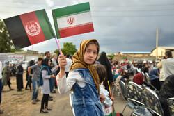 İran'da Afgan çocuklar için tören
