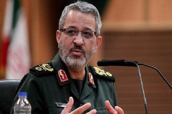 """العميد غيب برور نائباً للقائد العالم للحرس الثوري في مقر """"امام علي(ع)"""""""