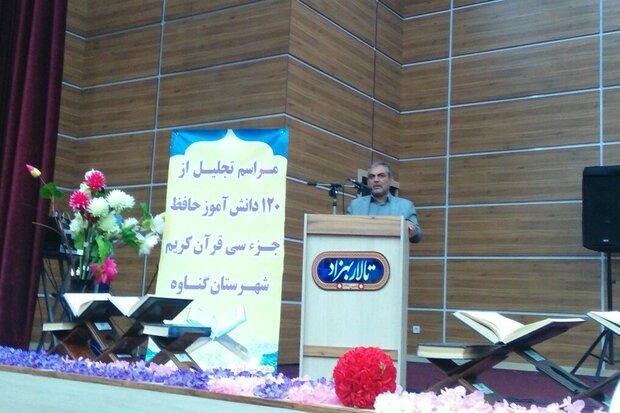 ۲۰ هزار دانشآموز استان بوشهر مشمول طرح ملی حفظ جزء ۳۰ قرآن شدند