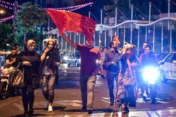 Persepolis şampiyon oldu taraftar sokaklara döküldü