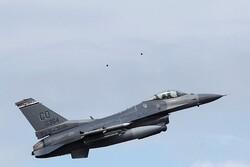 ABD'de eğitim uçuşu için havalanan F-16 jeti düştü