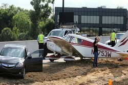 VIDEO: Emergency rush hour landing on Florida highway