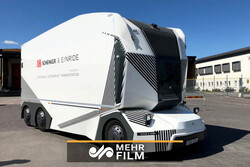 VIDEO: Unveiling Swedish self-driving electric truck
