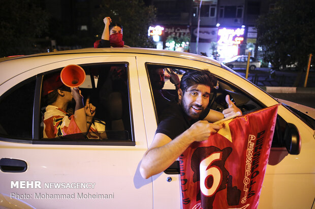 Persepolis fans celebrate 12th IPL crown