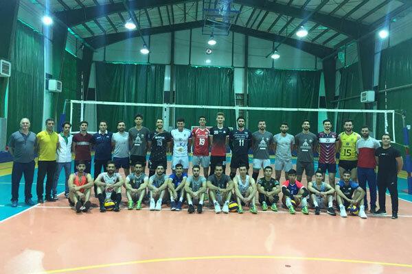 دومین اردوی انتخابی تیم والیبال دانشجویان برگزار شد