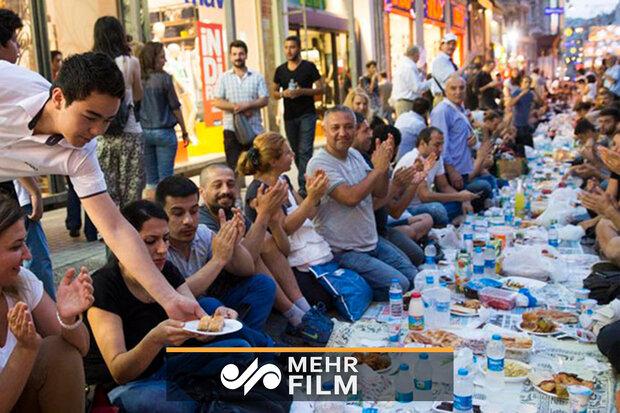 ترکی میں رمضان المبارک کی جھلکیاں